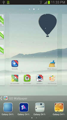 Galaxy S4 Theme Go Launcher EX-1