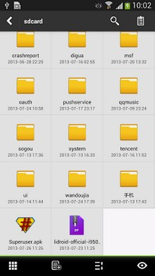 Lidroid File Explorer root-2