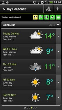 Met Office Weather Application-2