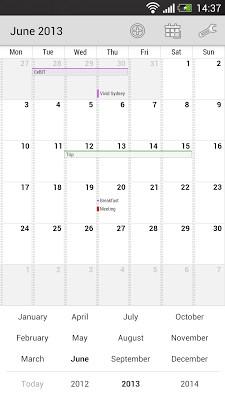 Neat Calendar Widget-2
