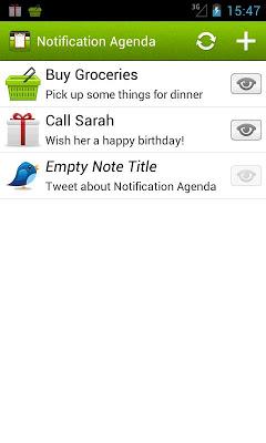 Notification Agenda-2