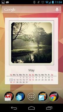 Photo Calendar Widget Free-1