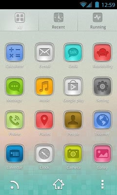 StainedGlass GO Launcher Theme-2