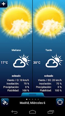Weather for Spain-1