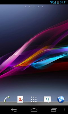 Xperia Go Launcher EX Theme-1