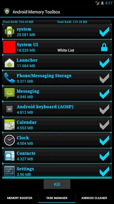 Android Memory Toolbox Lite-2