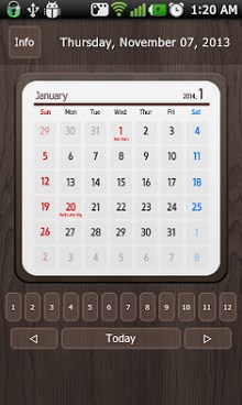 Calendar Widget 2014 Ultimate-1