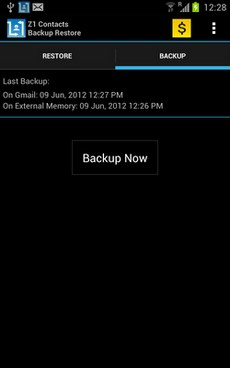 Contacts Backup - AUTOMATIC-2