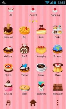 Dessert - GO Launcher Theme-2