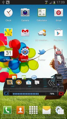 Galaxy S4 Next Launcher Theme-2