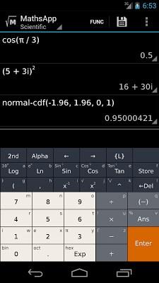 MathsApp Scientific Calculator-1