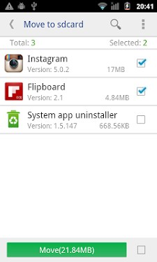 Move app to SD card APK for android | APK Download for Android