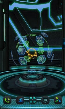 Next Core 3D Livewallpaper LWP-1