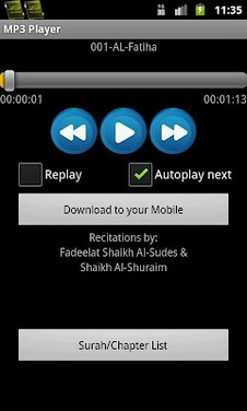 Quran MP3 With English-2