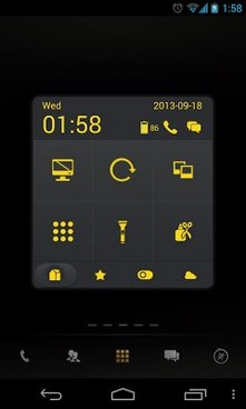 Dark Yellow Toucher Pro Theme-1