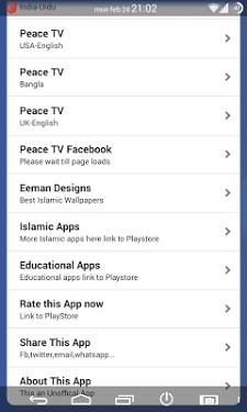 Download Peace TV for free | APK Download For Android