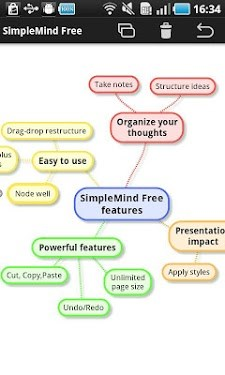SimpleMind Free mind mapping-1