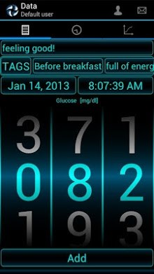 Diabetes - Glucose Diary-1