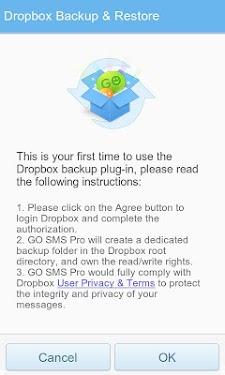 GO SMS Pro Dropbox Backup-2