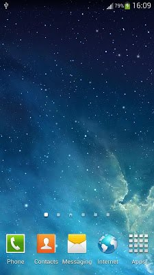 Galaxy Parallax Live Wallpaper-1