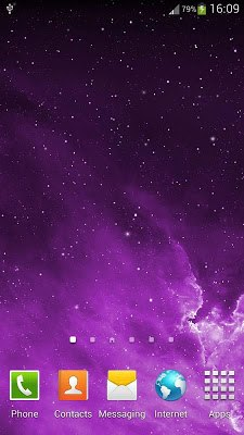 Galaxy Parallax Live Wallpaper-2