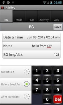 Glucose Buddy - Diabetes Log-2