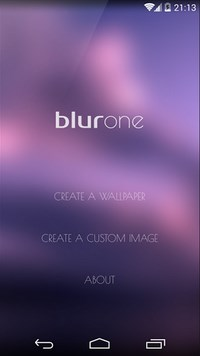 Blurone -Blur effect wallpaper-1