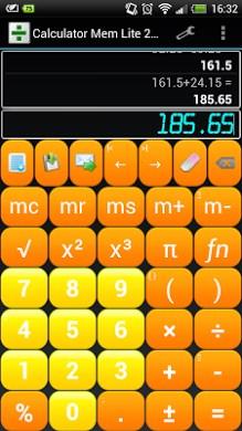 Calculator Mem Lite-2
