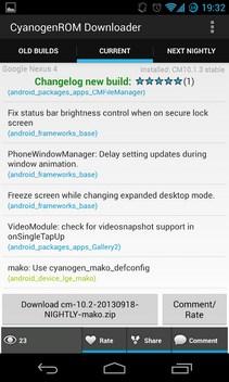 Cyanogen ROM-1