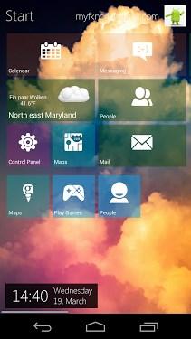 Metro UI Launcher 8-1