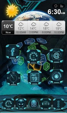 Next Technology Theme 3D LWP-1