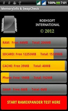 MemoryInfo & Swapfile Check | APK Download for Android