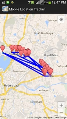 Mobile Location Tracker-2