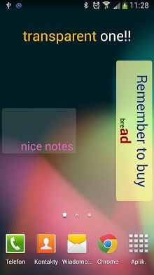 Sticky Notes Widget-1