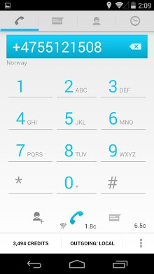 Gratis bellen & sms Messenger-1