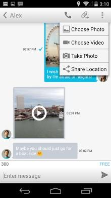 Gratis bellen & sms Messenger-2