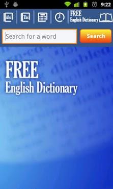 free dictionary apk