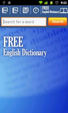 Free English Dictionary