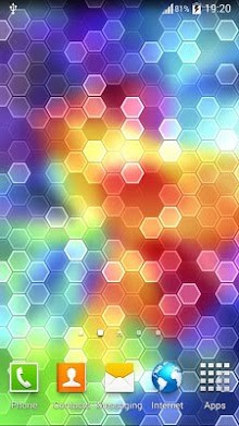Galaxy S5 HEX Live Wallpaper 1