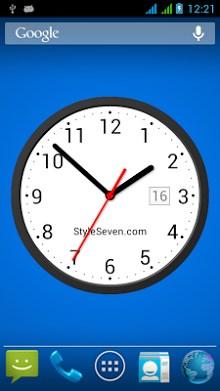 Light Analog Clock LW-7-1