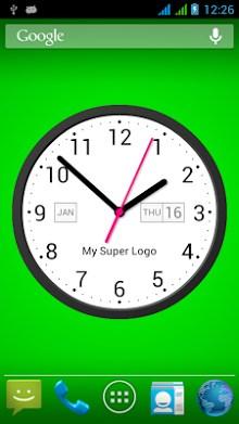 Light Analog Clock LW-7-2