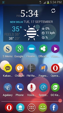 Roundy APEX - NOVA - ADW Theme-1