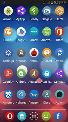 Roundy APEX - NOVA - ADW Theme-2