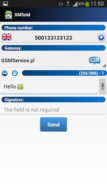 SMSoid - SMS Gateway-1