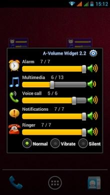 Volume Control Widget-2