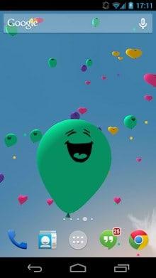 Balloons 3D live wallpaper-1