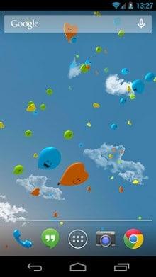 Balloons 3D live wallpaper-2