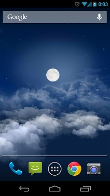Flight in the night sky FREE-2