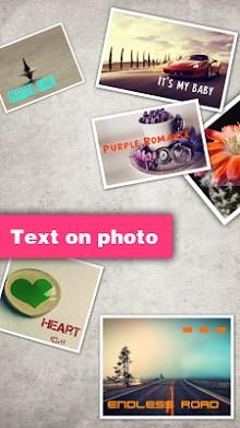 Texts on Photo-1