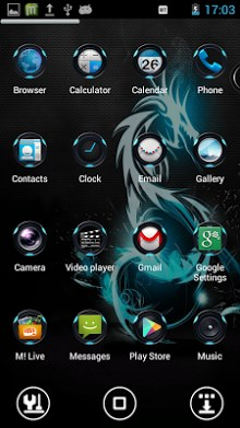 Zenith Next Launcher Theme-2